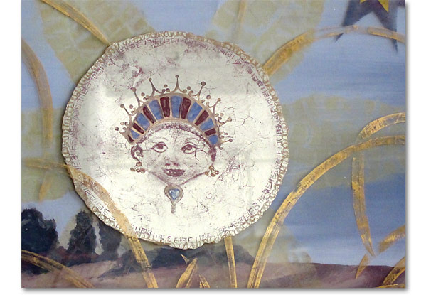 Miriam ellner design verre eglomis for Glass painting techniques